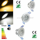9W 12W 15W Led Recessed Ceiling Downlight Warm Cool White Light Lamp+Driver Kit