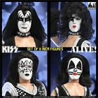 Figures Toy Co KISS ALIVE Series 6 Retro Action FIGURE Mego Style *NEW*