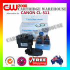 DIY Ink Refil 6 Times for CANON CL-511 CL 511 GENUINE cartridges