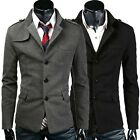 CHEAP Sexy Man Blazer Jacket Windbreaker Trench Coats Overcoat Tops Slim Outwear