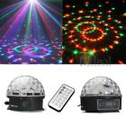 12W RGB LED MP3 DJ Disco Magic Crystal Ball Stage Effect Light Christmas Party