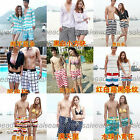 Men's And Women's Lover Holiday's Casual Beach Swim Pool Surfing Short Pants