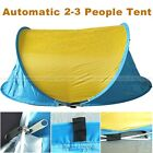 Festival Tent 2 Man Lightweight Quick Pitch Pop Up Camping Fishing Hiking Tent