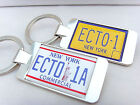 GHOSTBUSTERS ECTO 1A ECTO-1 NUMBER PLATE KEY FOB KEYFOB KEYRING BOTTLE OPENER