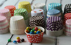 colorful CANDY CUPS party paper nut containers bakery muffin liner ice cream cup