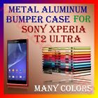 ALUMINUM BUMPER METAL CASE for SONY XPERIA T2 ULTRA MOBILE SAFETY COVER FRAME