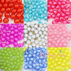 100pcs crystal round 3D Illusion Miracle Beads Loose Faceted 10mm DIY Jewellery