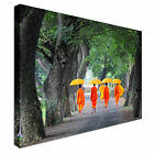 Unidentified young monks - VIETNAM Canvas Art Cheap Wall Print Large Any Size