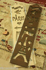 zakka vintage style wooden EIFFEL PARIS drawing template stencil craft pattern