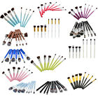 8pcs 2cm/0.9cm Pro Foundation blush Liquid / Kabuki Makeup Brush Set