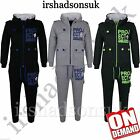 KIDS BOYS TODDLERS PROJECT DELUXE PRINT TRACKSUIT HOODIE BOTTOM JOG SUIT 2-8 Yr