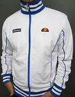 Ellesse Heritage 80s Vilas Milan Track Top in White & Royal Blue - S,M,L,XL,2XL