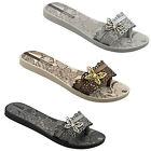 WOMENS LADIES IPANEMA FLAT TOEPOST BUTTERFLY FLIP FLOP BEACH SANDALS SHOES SIZE