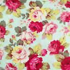By the 1/2yard or 1yard 100% Cotton Fabric Floral Print Sewing Craft f-187