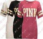 P34 NEW WOMENS LADIES GIRLS VARSITY GOLD FOIL T-SHIRT TOP IN SIZE 08-14