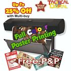 A0 Full Colour Poster Printing High Quality Print - Gloss or Satin 200gsm paper