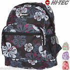 Hi-Tec Flower Mini Backpack Rucksack Kids Girl School Bag Small Childrens ladies