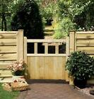 GARDEN TIMBER WOODEN GATE - Solid Infill Path Gate