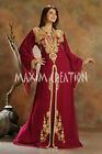 Dubai Farasha Moroccan Kaftan Dress Abaya Jilbab Islamic Arabian BID only 3471