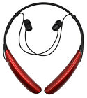 Genuine LG Tone Pro HBS-750 Wireless Bluetooth Stereo Headset Red