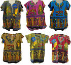 Egyptian Cotton Kaftan Caftan Top Boho Hippie Shirt  Pharaoh IsisTut Nefertiti