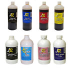JUST REFILL 1 LITRE OF UNIVERSAL INK FOR CARTRIDGE REFILLING - CHOOSE COLOUR