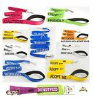 Short Standard Extra Long Nylon Leads+Adjustable Buckle & Semi-Choke Dog Collars