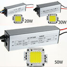 20W 30W 50W White LED Light Lamp Panel 20W30W50W High Power LED Driver AC95-240V