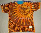 SUN MOON--Liquid Blue 2 sided Day Night Space Astronomy Science T shirt L-7XL