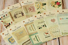 kawaii vintage retro Dailylike Stick & Sewing PAPER Stickers craft scrapbooking