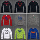 NEW ABERCROMBIE KIDS BOYS  LONG SLEEVE SHIRTS SIZE S M L XL