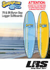 NEW Surfoplane Byron Bay Logger Soft surfboard. Softboard in 7ft & 8ft
