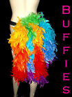 Rainbow / Gay pride / Burlesque / Festival / Bright Feather Bustle Belt 6-30