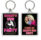 Personalised Any Picture Hen Party Keepsake Large Keyrings Pic Size 35mm X 50mm