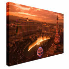 Las Vegas Cityscape Canvas Art Cheap Wall Print Home Interior