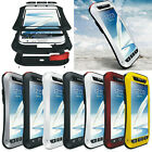 Aluminum Metal Shock/Water Proof Case For Samsung Galaxy Note 2