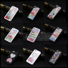 Luxury 3D Handmade Crystal Diamond Rhinestone Hard Case Cover for iPhone 5 5S 5G