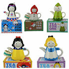 Disney Teapot- Tea for 1- Snow White/ Alice/ Peter Pan/ Red Riding-Choose Design