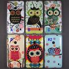 Cute Lovely Owl TPU Rubber Soft Case Back Cover Skin Pouch For Nokia Lumia 520