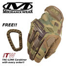 Mechanix M-Pact MPACT Multicam Camo Gloves ***Free Genuine ITW Carabiner***