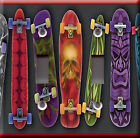 Light Switch Plate Cover - Skateboard model multiple - Sport ride colored design
