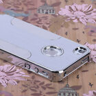 Hot Luxury Ultra-thin Aluminum Steel Hard Back Cover Matte Case For iPhone 4 4S