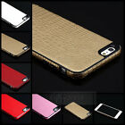 Luxury Soft TPU PU Leather Back Cover Fitted Case Skin for Apple iPhone 5 5G 5S