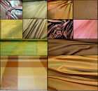 """Designers Soft Furnishing Pure Silk Collection Curtain Fabric - 48"""" - 54"""" Wide"""