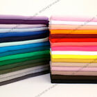 100% Knitted Jersey Cotton Interlock Fabric Material Made in the UK FREE P&P