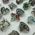 6pcs-20pcs Wholesale Jewelry fashion retro alloy mixed style Rings free shipping