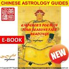 Yellow Emperor Poem of 4 Seasons Feng Shui Reading Destiny, Fortune, Good Luck