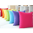 Quality Soft Jelly Candy Color Design Micro Suede Pillow Case Cushion Cover MOUS