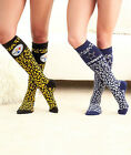 NEW NFL Leopard Print Knee-High Socks!  FREE SHIPPING