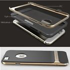 Neo Hybrid Gold Hard Bumper Soft Rubber Cover Case Skin for Apple iPhone 6 4.7""